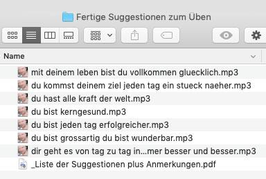 Silent Subliminals: deutsch